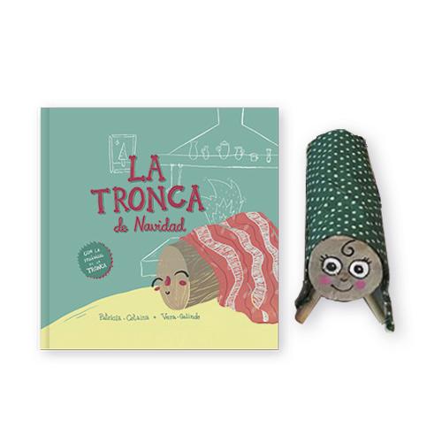 La Tronca de Navidad - Libro Álbum Ilustrado Infantil